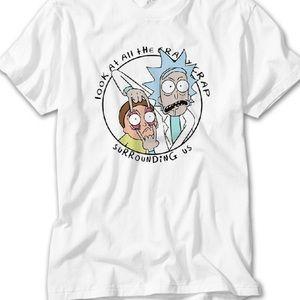 Rick & Morty Custom Made T-Shirt